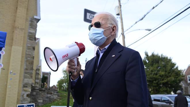 Joe Biden is set to make a speech
