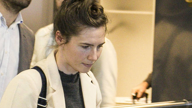 Amanda Knox has been criticised over a tasteless remark she made on Twitter