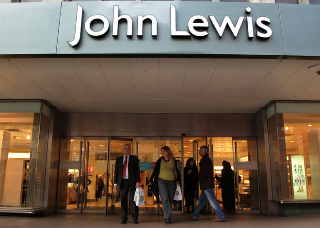 File photo: The John Lewis store on Oxford Street, London
