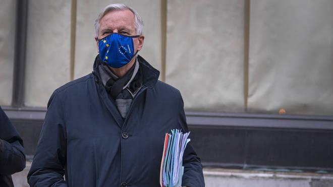 File photo: EU's chief negotiator Michel Barnier