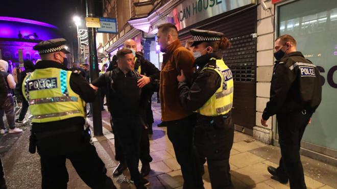 Police detain two men in Leeds last night