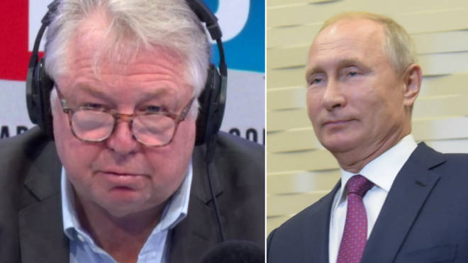 Nick Ferrari had an angry row with a Putin spokesman