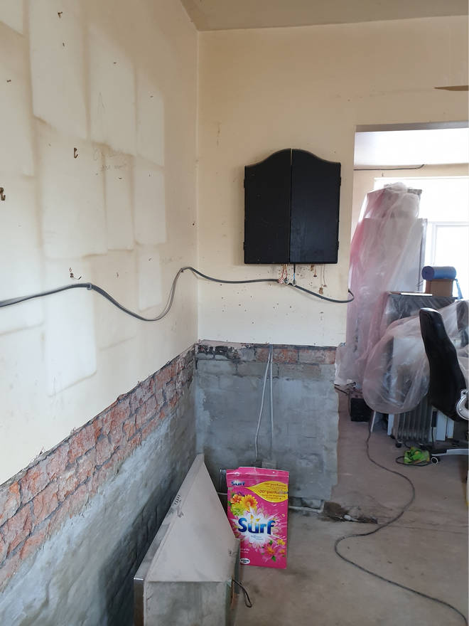 Lorna's home was devastated by the flooding