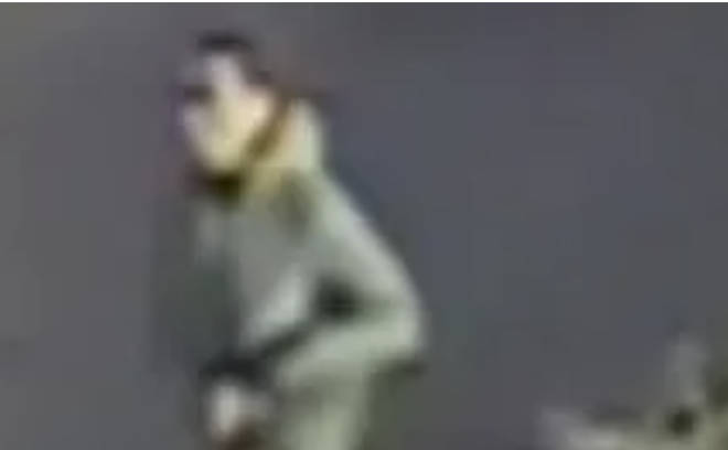 Police want to trace this man after two schoolgirls were stabbed in Croydon