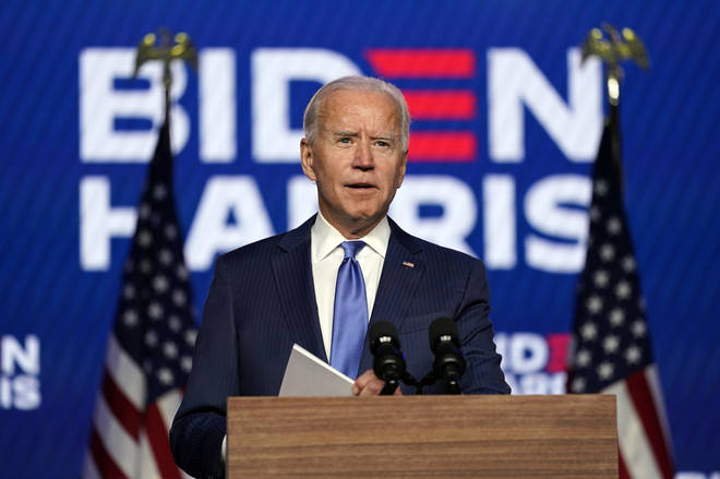 Joe Biden continues to make gains during the election count