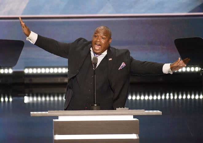 Pastor Mark Burns hinted that there is still a long way to go in the US Election