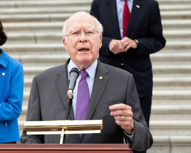 Senator Patrick Leahy noted that Joe Biden has the ability to bring together the nation