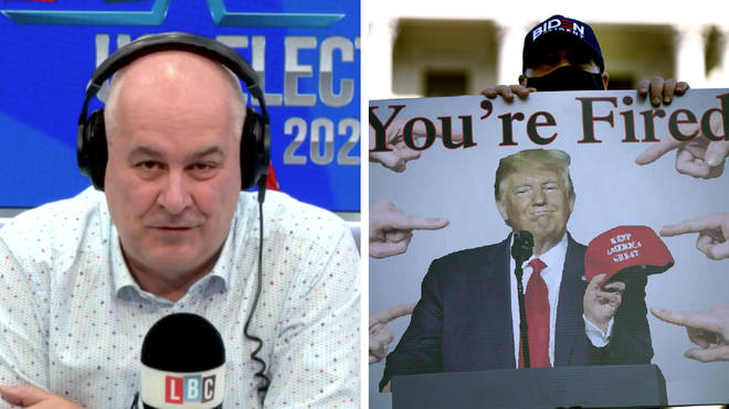 A former Republican strategist told Iain Dale he is glad Joe Biden has won the US election