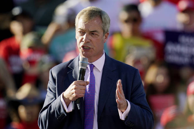 The Brexit Party leader told LBC that there are positives to take from this year's election