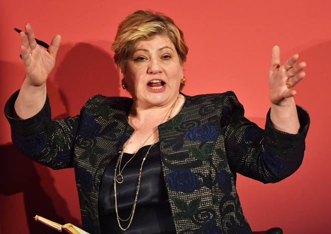 Emily Thornberry listed the reckless behaviour of Donald Trump through his time as President