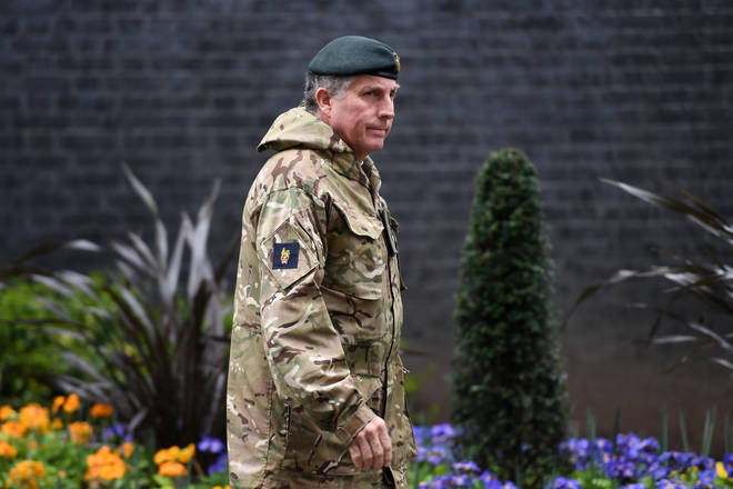 General Carter said negotiations were ongoing with the Treasury to provide defence with a multi-year budget settlement to modernise the armed forces.