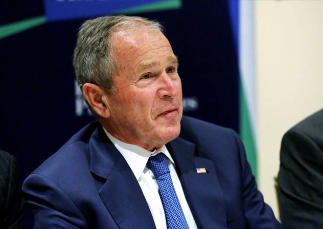 Former President George W. Bush congratulated Joe Biden on winning the US election