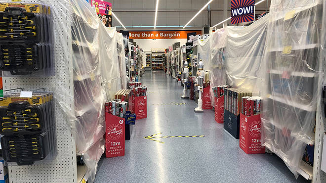 The Wales firebreak lockdown saw all non-essential items come off sale