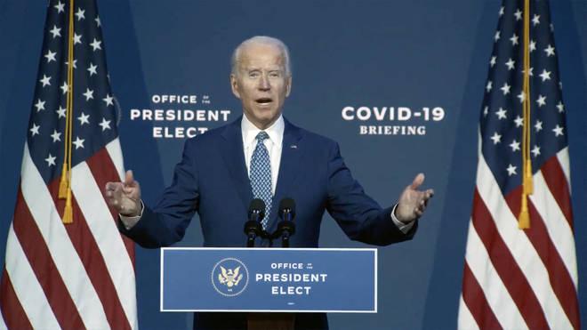 Joe Biden warned masks are 'not a political statement'
