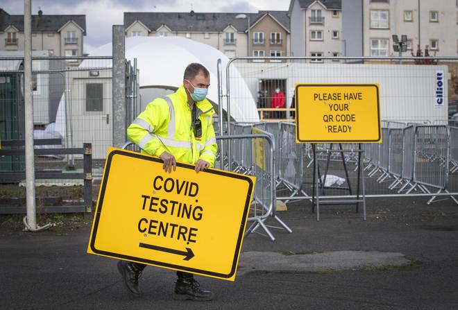 Rapid coronavirus tests are being sent to local authorities