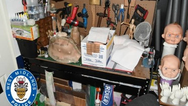 Jurors were told the couple's home in Mission Drive, Tipton, West Midlands, had a workbench equipped with tools including an axe