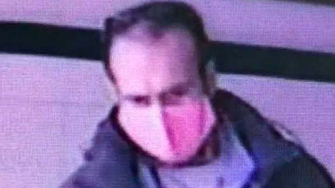 Police have issued a CCTV image of the man they wish to speak with