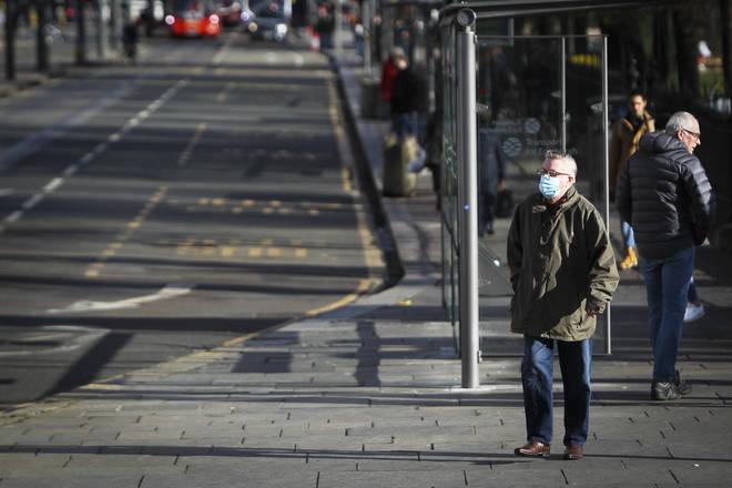 File photo: Members of the public in Edinburgh city centre
