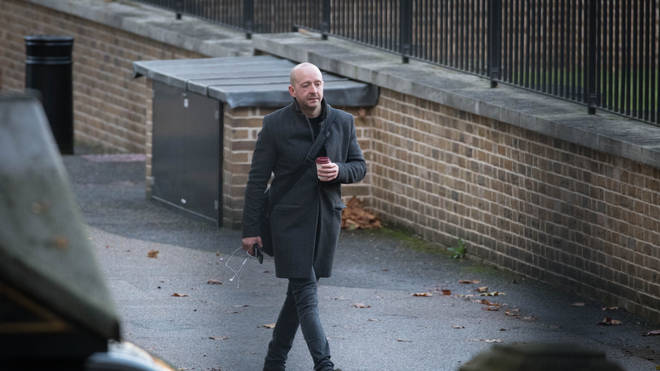Lee Cain arrives in Downing Street, London, the morning after he announced that he is resigning