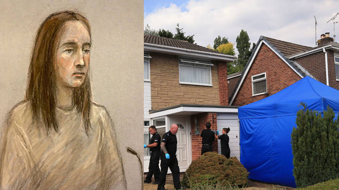 Lucy Letby, 30 appeared in court today charged with the murders of eight babies and the attempted murder of another ten