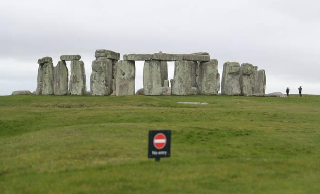 File photo: Stonehenge in Wiltshire