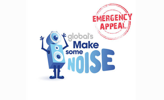 Global's Make Some Noise Emergency Appeal.