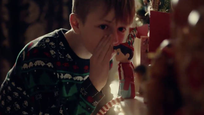 The Christmas advert included a heartwarming Covid-themed twist