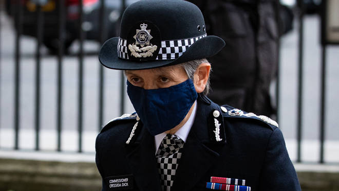 Cressida Dick said the Met is not free of racism