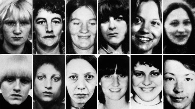 Top row (left to right) Wilma McCann, Emily Jackson, Irene Richardson, Patricia Atkinson, Jayne McDonald and Jean Jordan. Bottom row: Yvonne Pearson, Helen Rytka, Vera Millward, Josephine Whitaker, Barbara Leach and Jacqueline Hill.