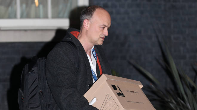 Dominic Cummings left No.10 for the last time on Friday