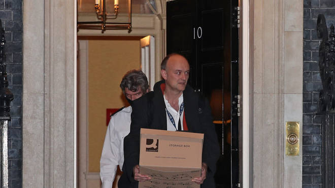 Dominic Cummings has quit No10 with immediate effect