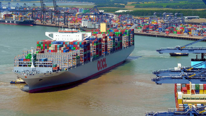 """The owners of Felixstowe Port have warned of """"chaos"""" in the run up to Christmas"""