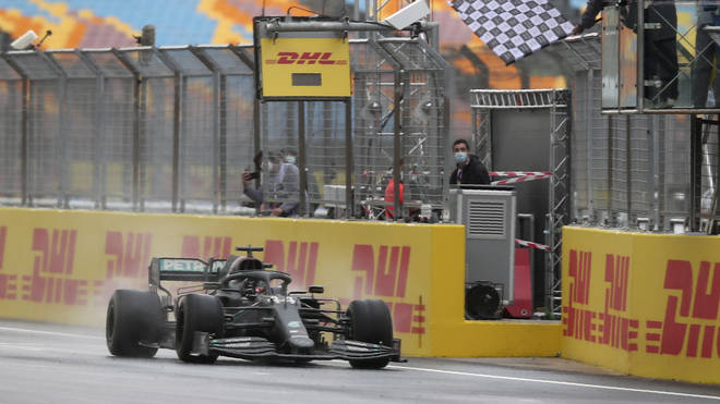 Lewis Hamilton finished more than 31 seconds faster than any of his opponents