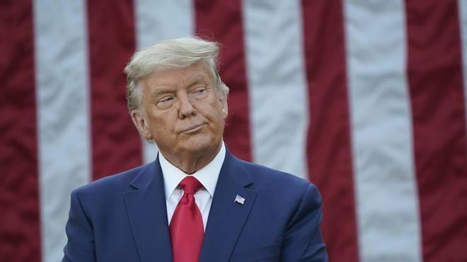 "Donald Trump said Joe Biden won the US election because it was ""rigged"""
