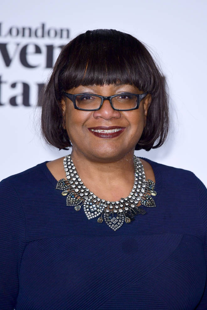 Dianne Abbott came under fire for her participation in the online event