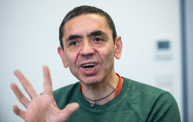 Professor Ugur Sahin warned that months of restrictions are ahead