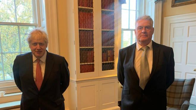 Boris Johnson and MP Lee Ashfield met for breakfast last Thursday