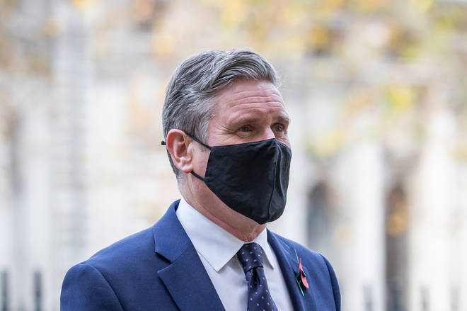 File photo: Labour Party leader Sir Keir Starmer arrives at Westminster Abbey in London