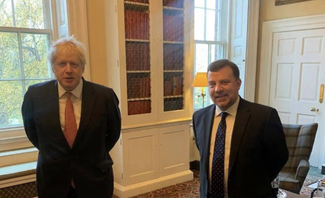 Andy Carter attended a breakfast meeting with the PM on Thursday