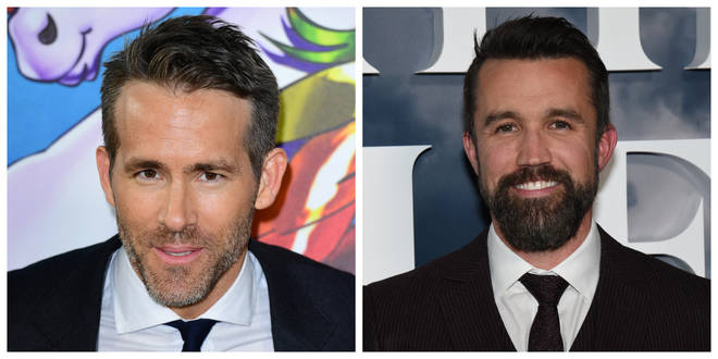Ryan Reynolds (left) and Rob McElhenney have had their takeover of Wrexham AFC approved
