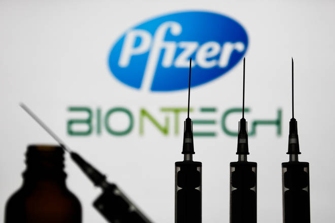 Pfizer/BionTech is undertaking trials