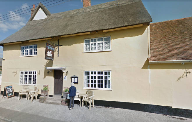 The Swan Inn has been targeted by the suspects