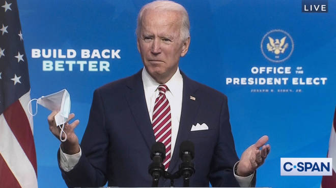 "Biden has said ""more people will die"" if Trump does not work with him on the transition"