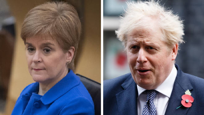 "Boris Johnson has angered Scottish nationalists after labelling devolution ""a disaster"""