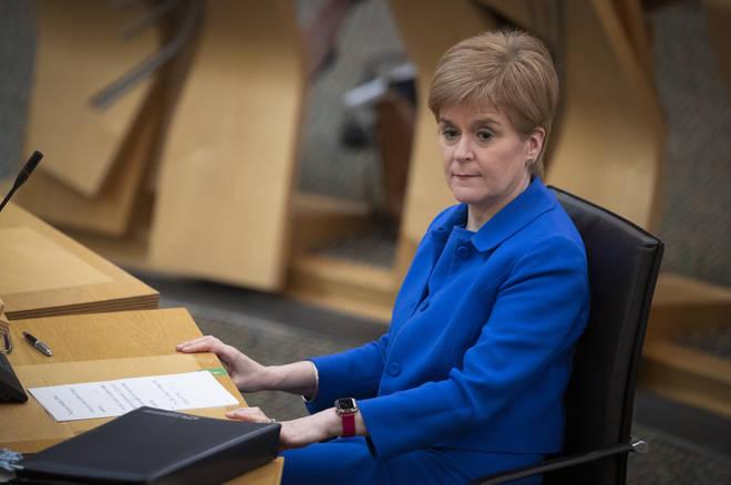 Nicola Sturgeon said she hopes to ease the measures over Christmas