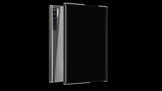 The Oppo X 2021 concept rollable screen smartphone