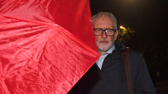 The former Labour leader was suspended from the party three weeks ago and had the whip withdrawn over his response to a damning Equality and Human Rights Commission