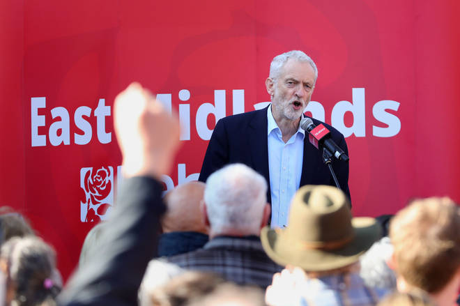 Jeremy Corbyn was suspended last month