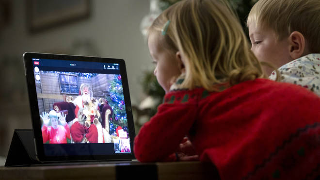 Santa Claus' online grotto