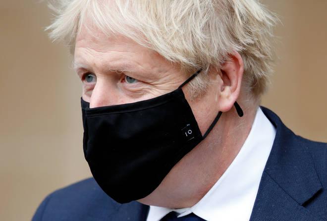 File photo: Prime Minister Boris Johnson